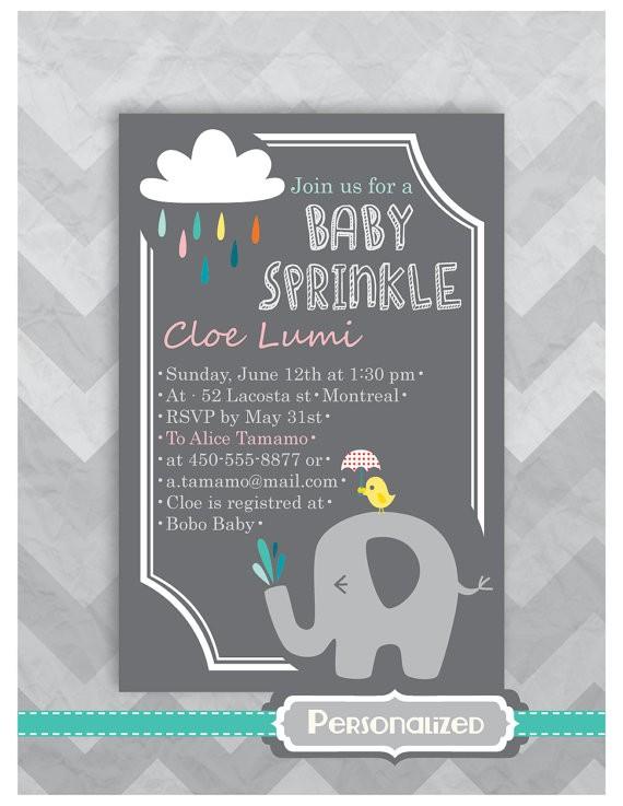 diy personalized baby sprinkle
