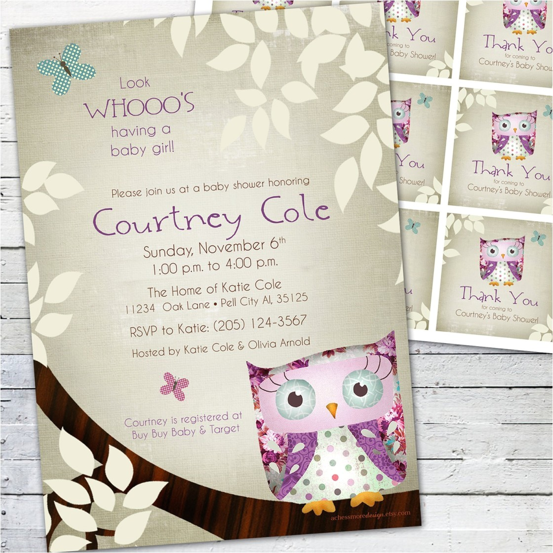 customized baby shower invitations online free