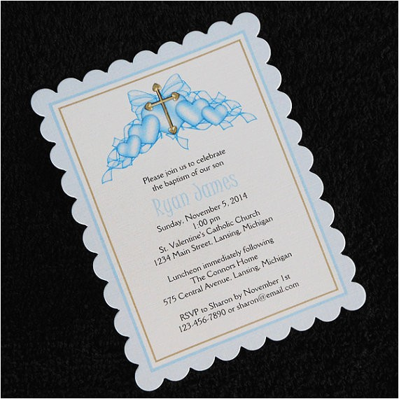 personalized baptism christening