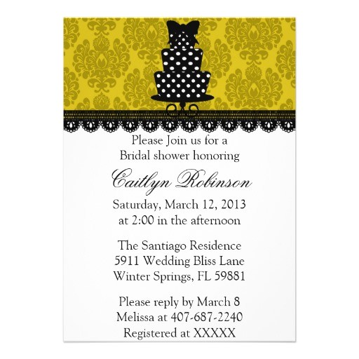 cute bridal shower invitation 161041979503709453