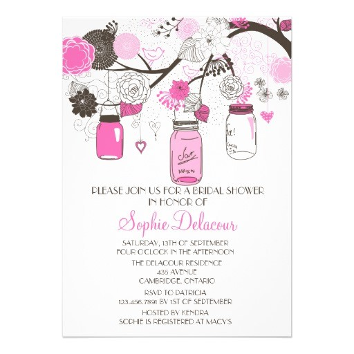 cute bridal shower invitations free
