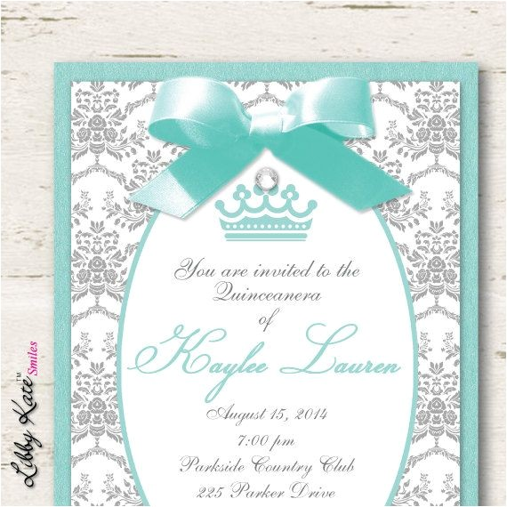 sweet 15 invitations