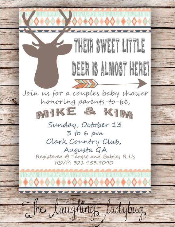 deer baby showers