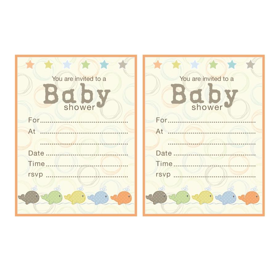 re mended baby shower invitations uk