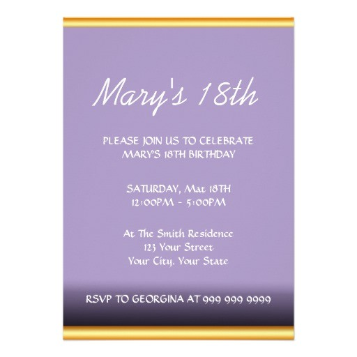 create your own birthday invitation 161472207188724281