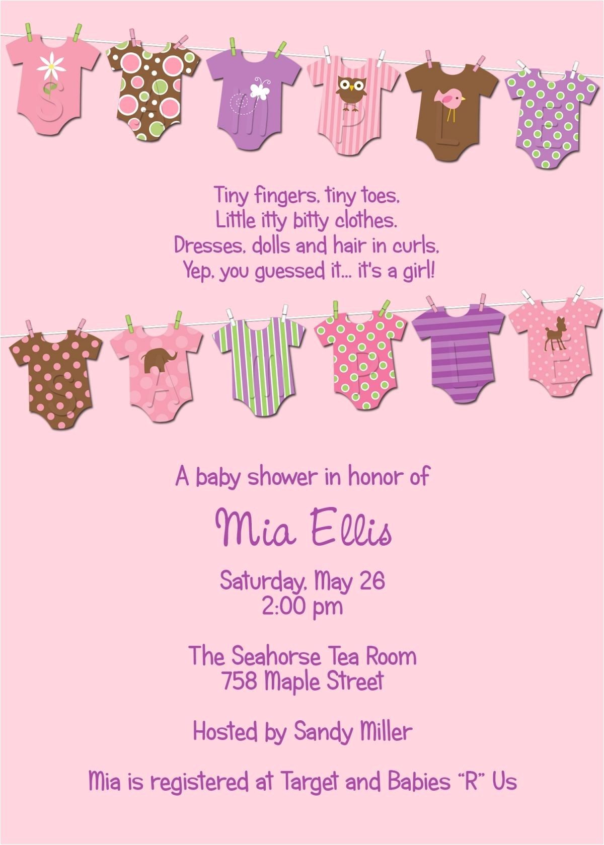 free email baby shower invitations