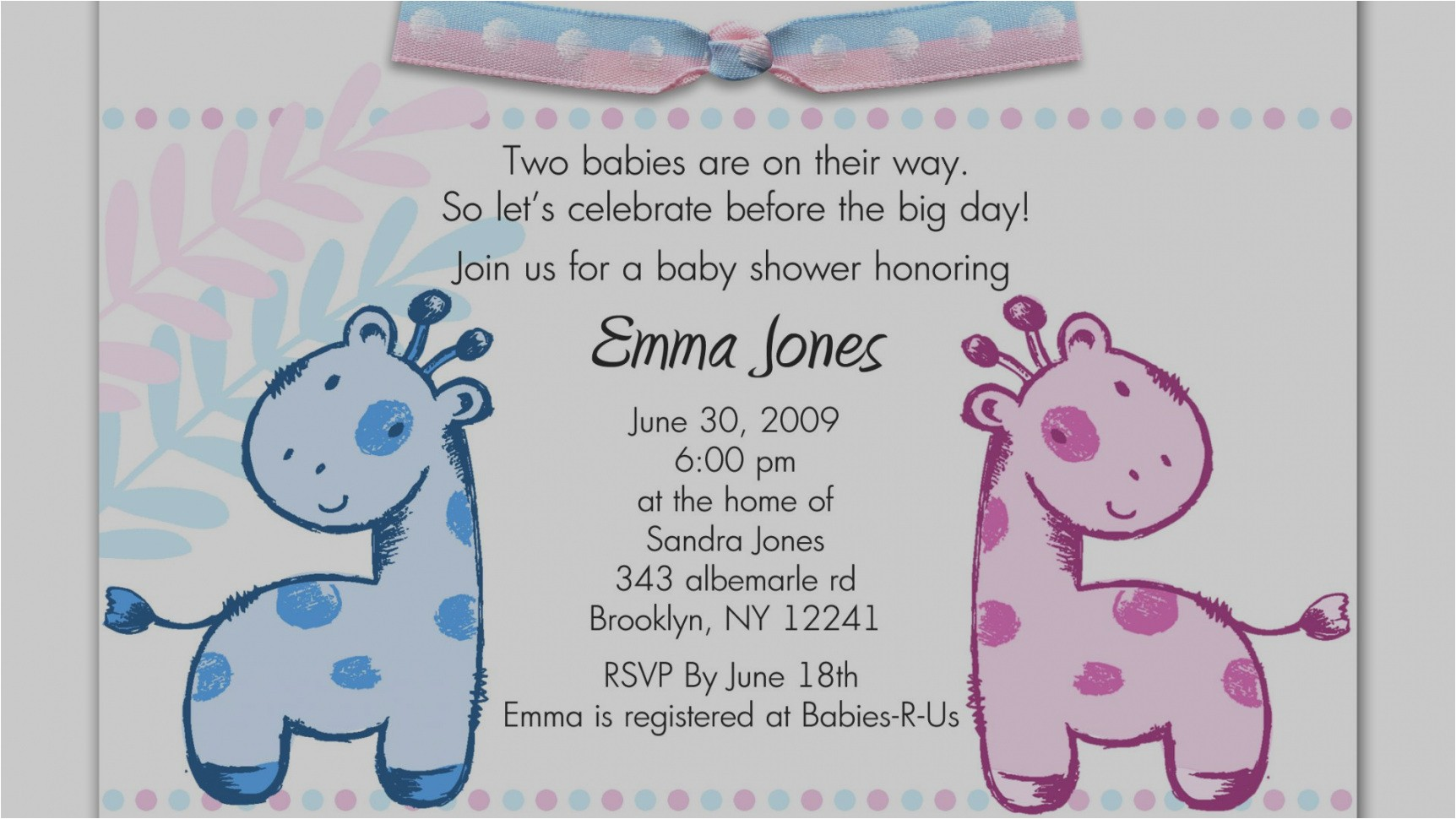 Digital Baby Shower Invitations Email Line Baby Shower Invitations Free Image Collections