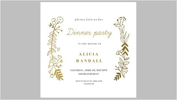 Dinner Party Invitations Free 47 Printable Dinner Invitation Templates