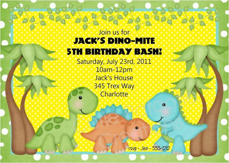free printable dinosaur baby shower invitation