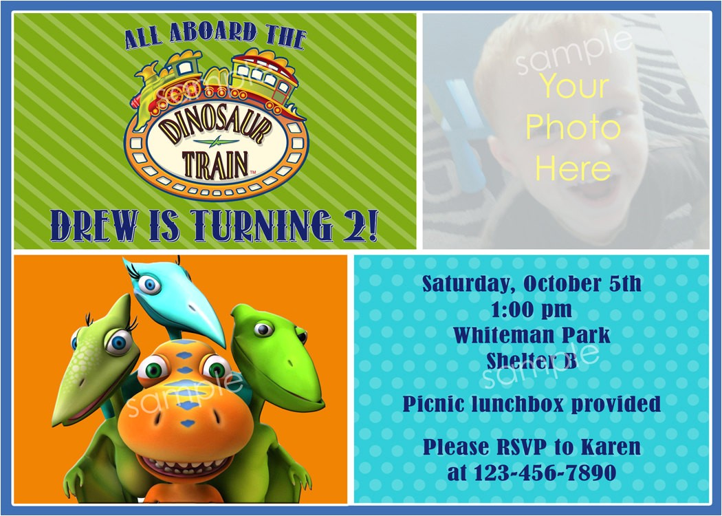 dinosaur train birthday party photo