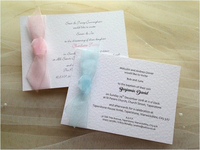 affordable christening and baptism Invitations