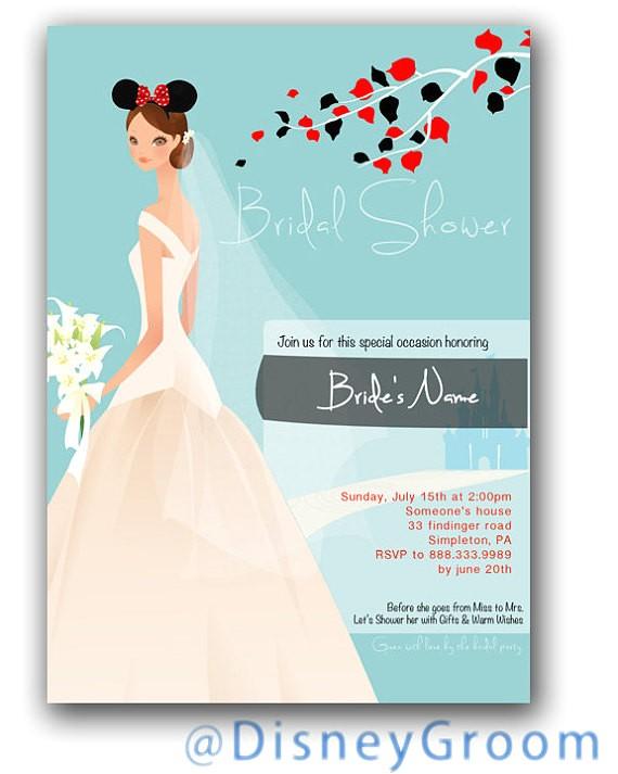 bridal shower theme disney
