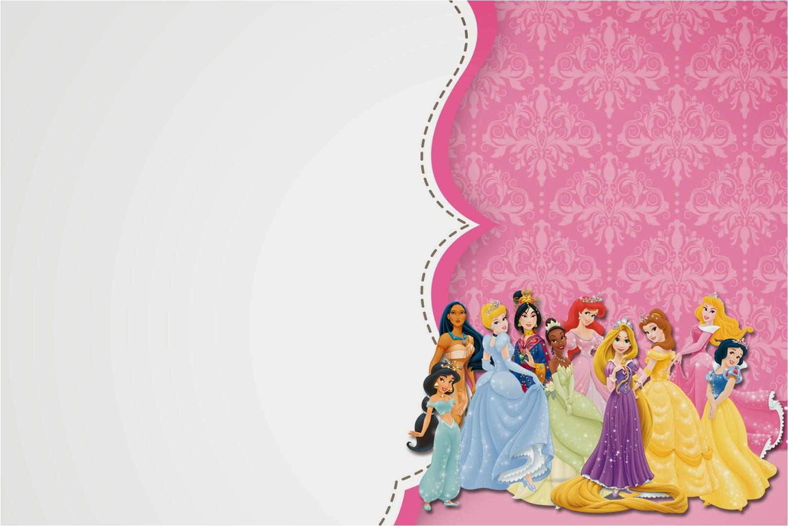 disney princess pary free printable 10