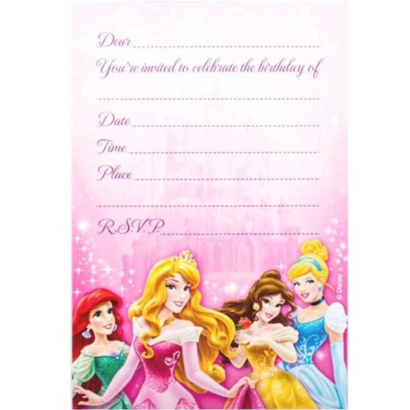 disney party invitations template