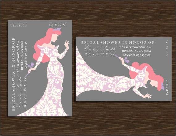 4x6 disney princesses silhouette bridal