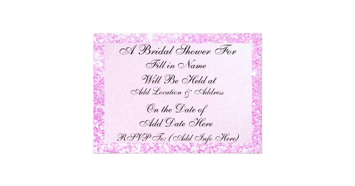 pink candy display photo bridal shower invitation 256632797205353860