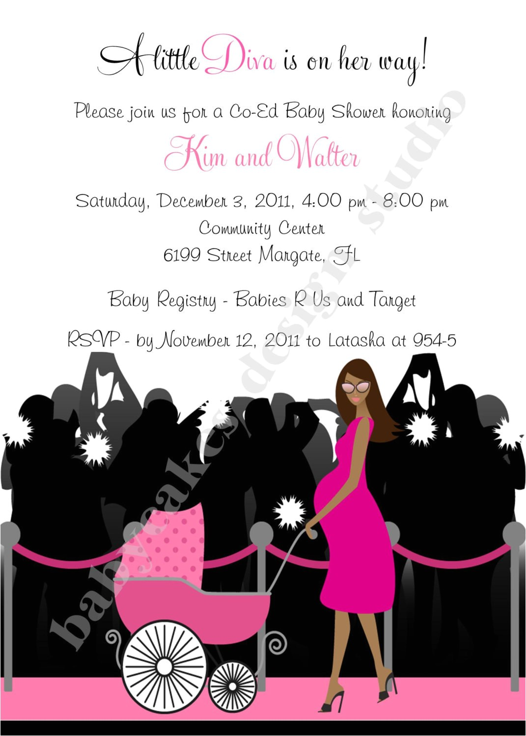 exclusive hollywood diva baby shower