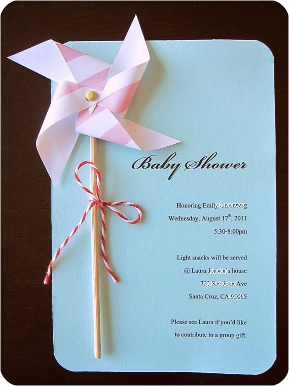 diy baby shower invitation kits