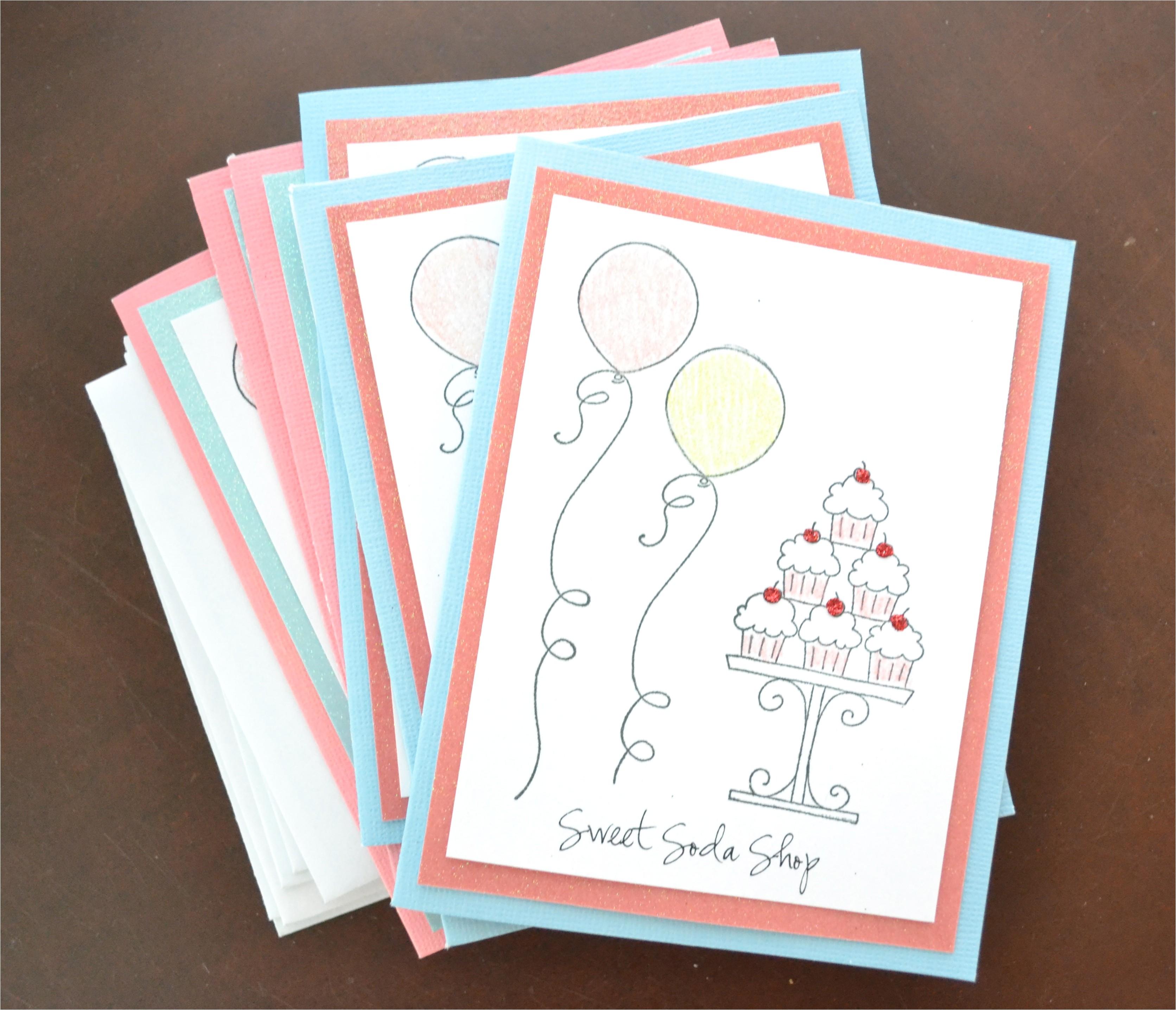 homemade birthday invitation template