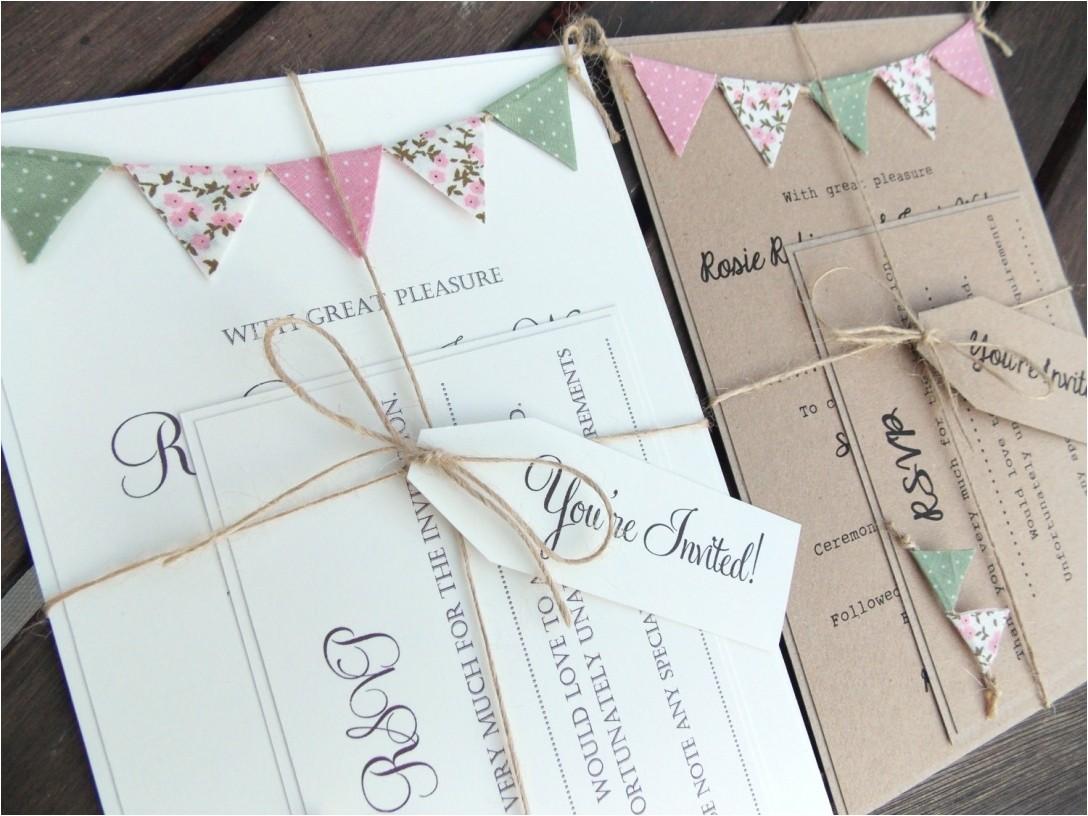 diy wedding shower invitations