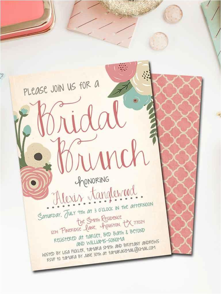 printable bridal shower invites