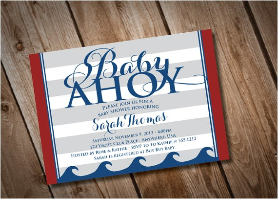 diy printable baby ahoy nautical baby