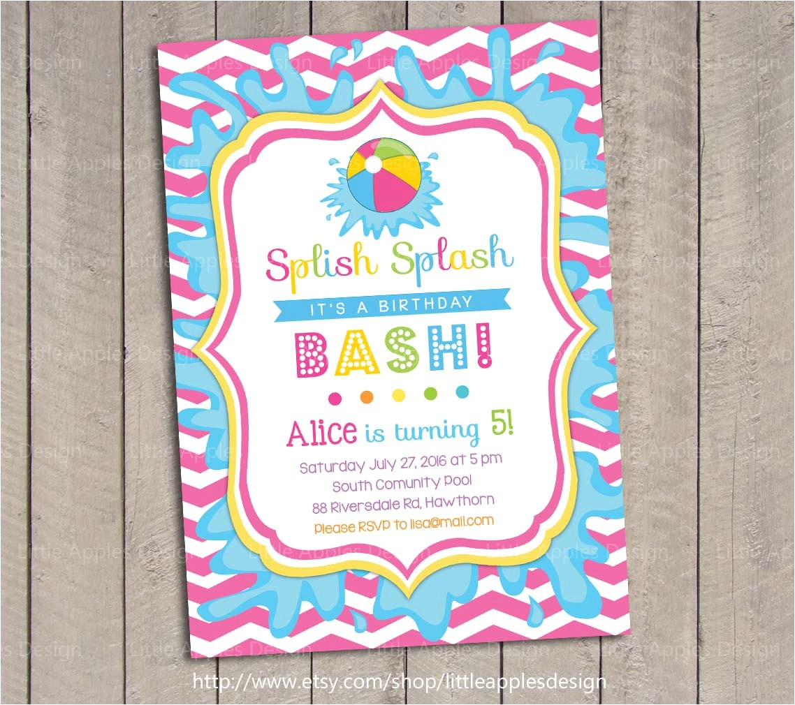 diy pool party invitations diy pool party invitation ideas diy
