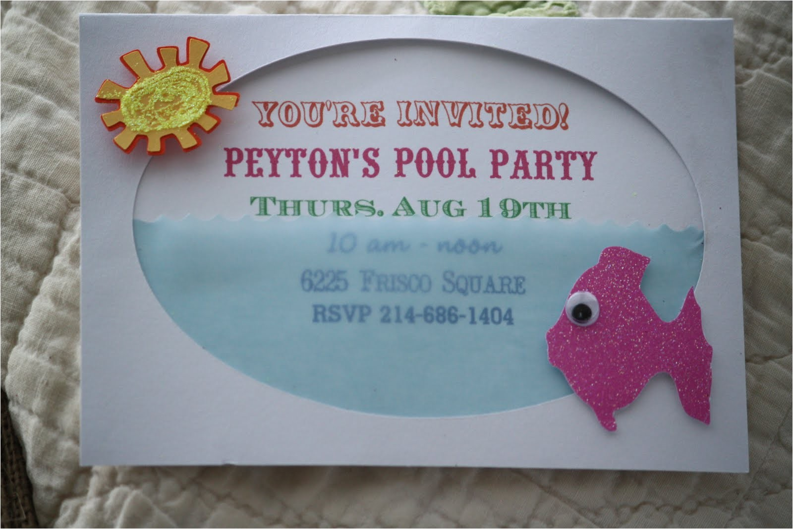 pool party invite from jami at