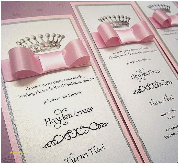 Diy Princess Baby Shower Invitations Baby Shower Invitation Elegant Diy Princess Baby Shower