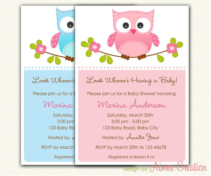 Diy Printable Baby Shower Invitations Owl Baby Shower Invitations Printable Diy for Baby Boy
