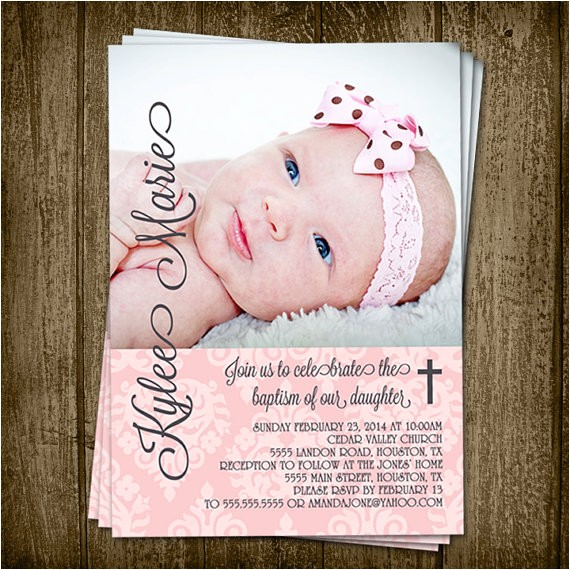 printable 5x7 demask baby girl baptism