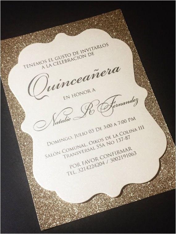 diy quinceanera invitations
