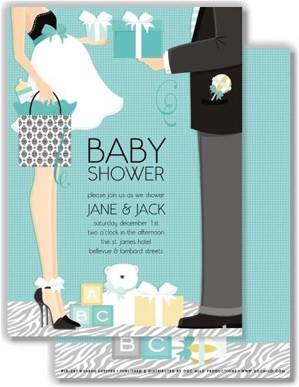 doc milo baby shower invitations