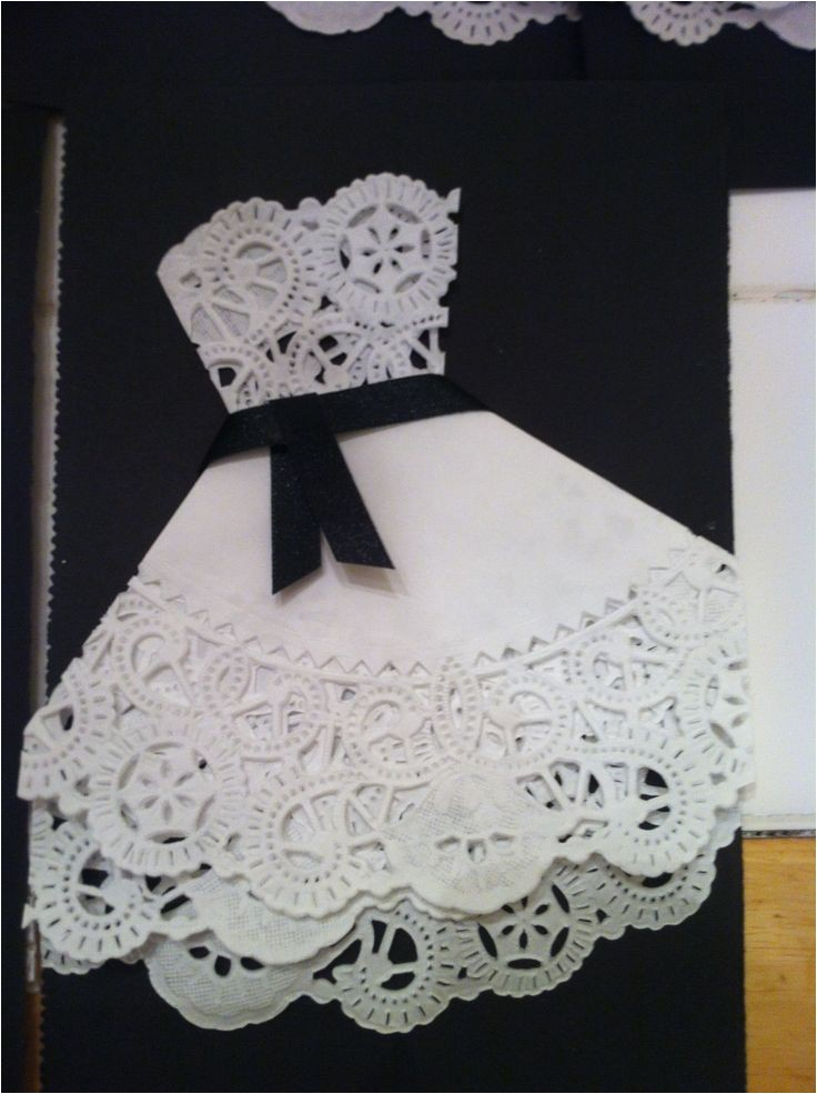 doily invitations