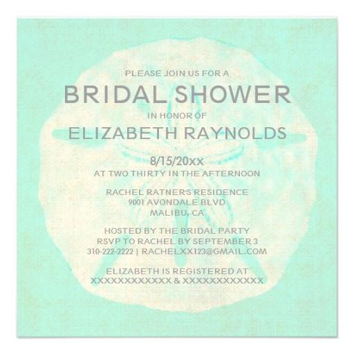 vintage bridal shower invitations