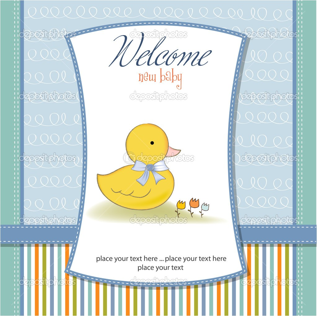 Donald Duck Baby Shower Invitations theme Duck Baby Shower Invitations