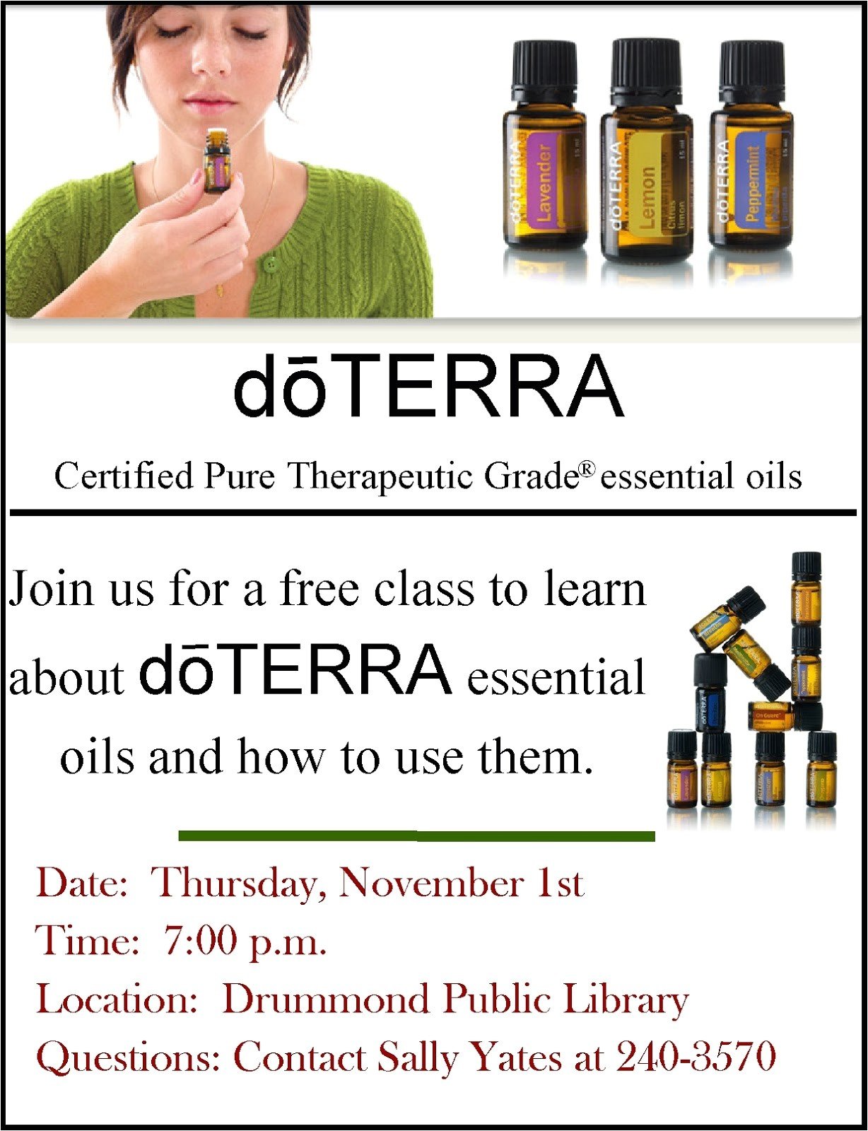 Doterra Party Invites Doterra Invitation