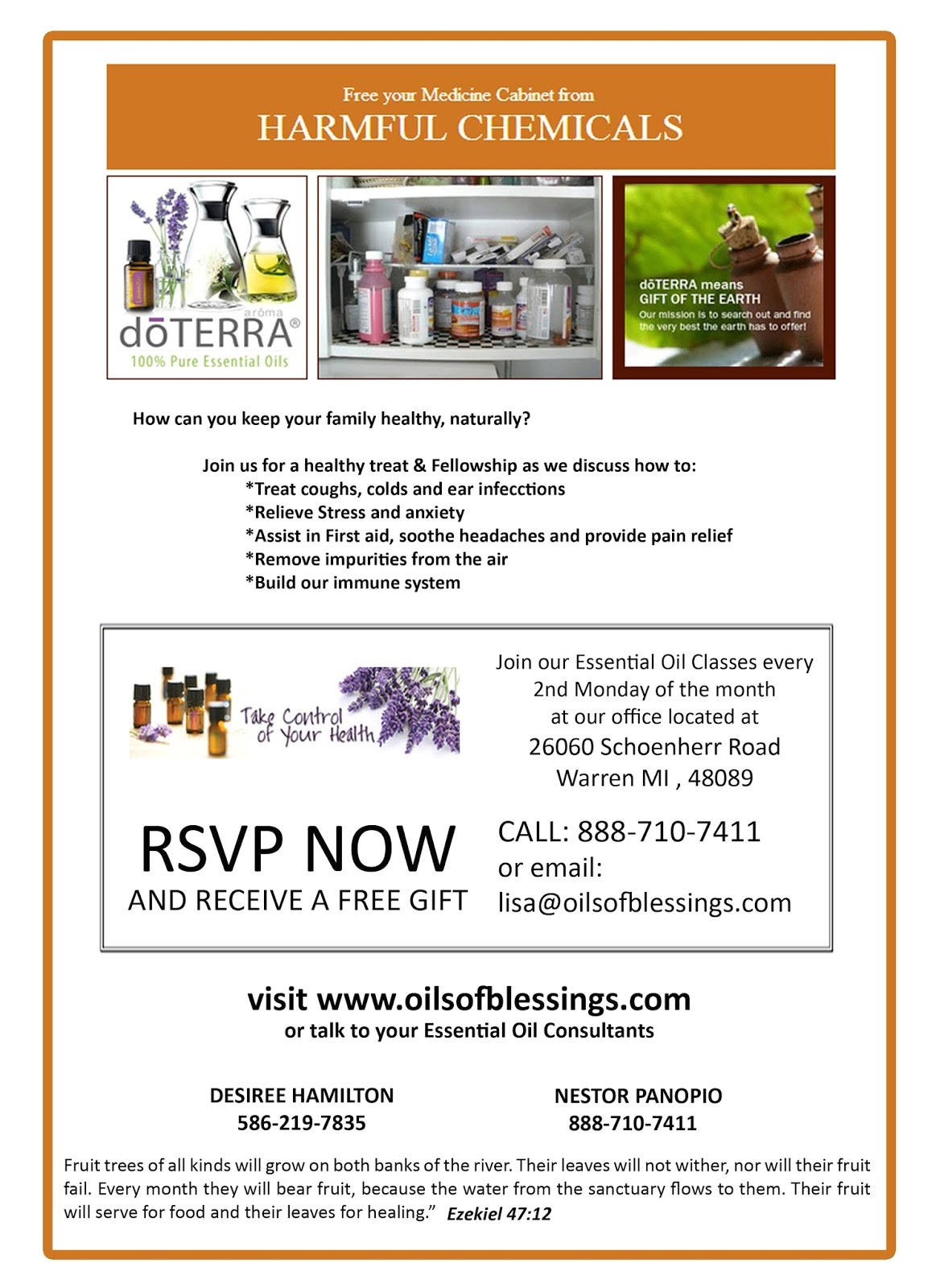 doterra invitation template