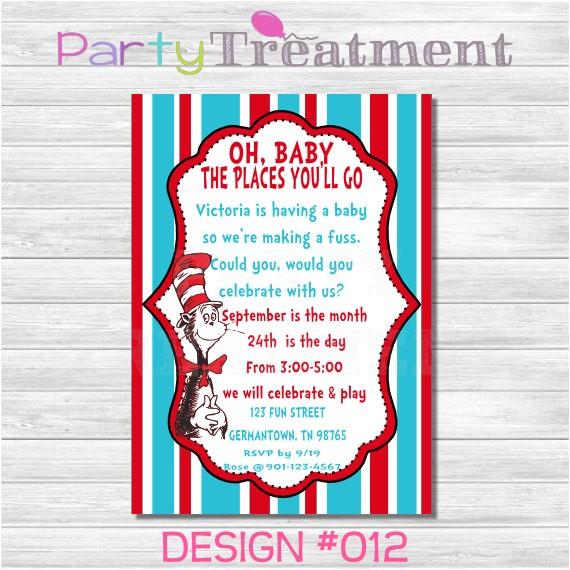 dr seuss baby shower invitations etsy