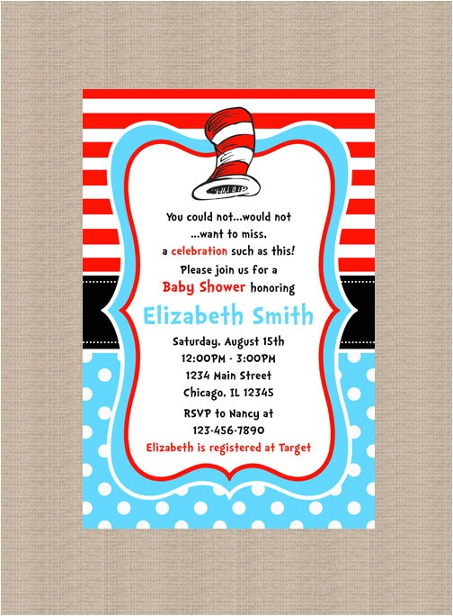 dr seuss baby shower invitation dr seuss