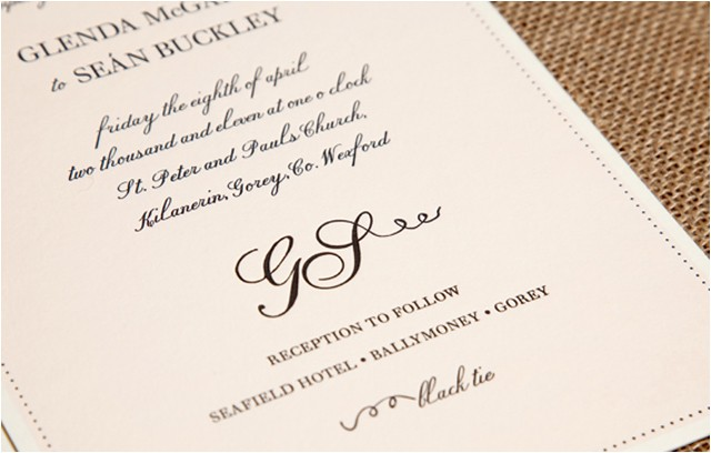 wedding story how to let your guests know the dress code by invitation