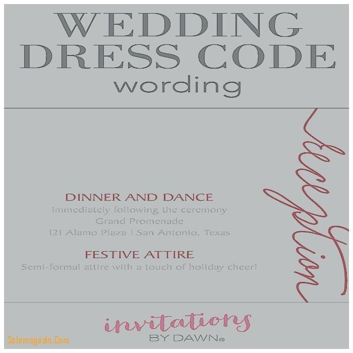 invitation wording semi formal