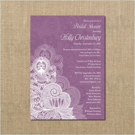 Drop In Bridal Shower Invitation Wording Bridal Shower Invitation Drop In Come and Go Digital