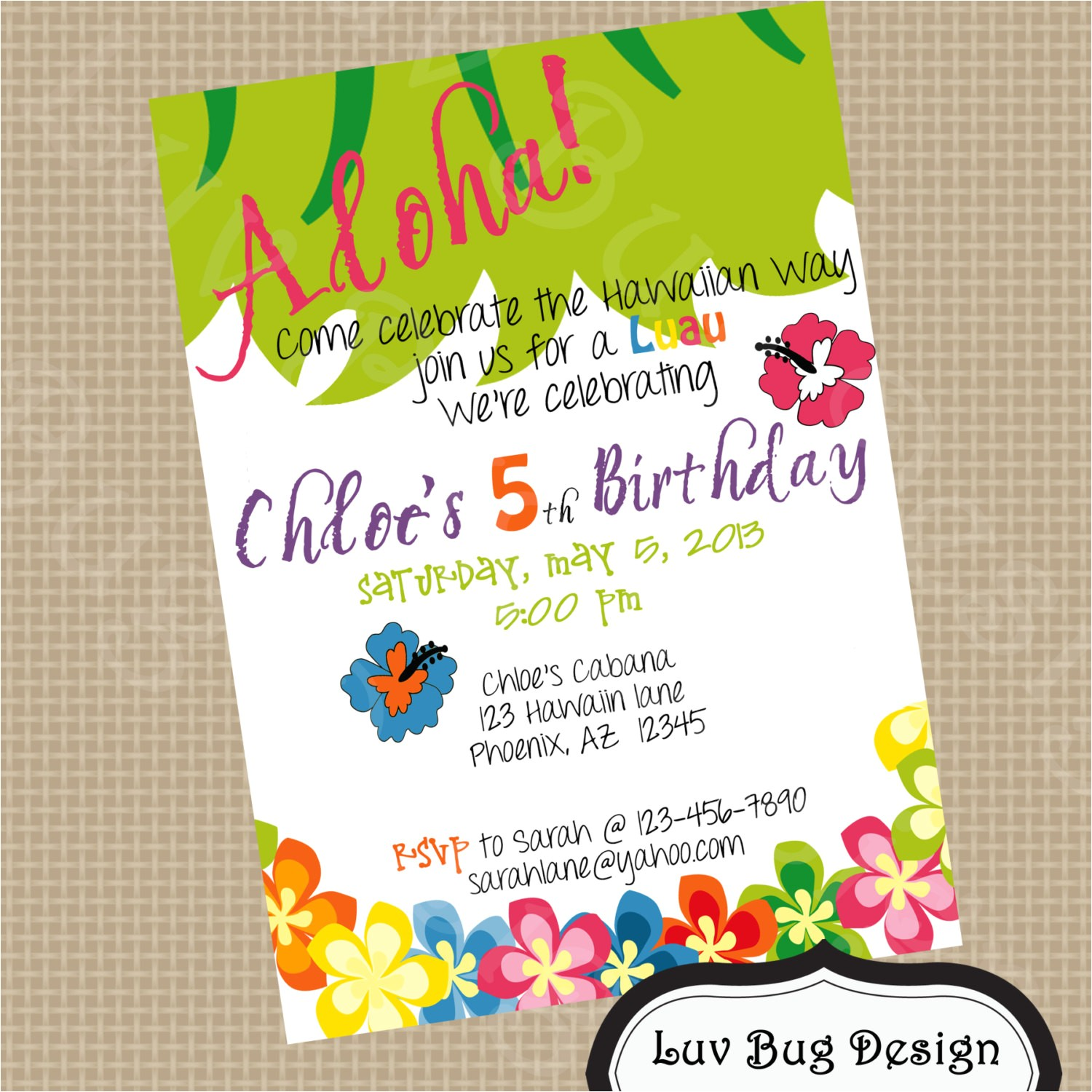 Drop Off Party Invitation Wording 5th Birthday Party Invitation Wording Cimvitation