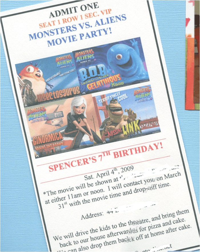 great 7 year old birthday party idea go out to the movies
