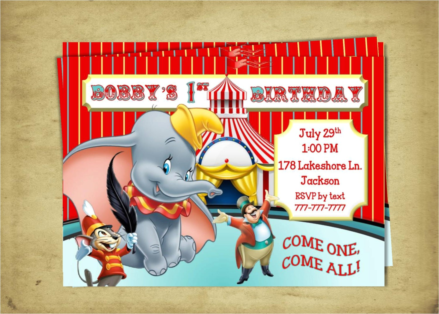 dumbo birthday dumbo the flying elephant