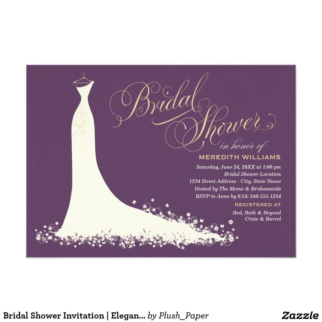 create easy wedding shower invitations templates