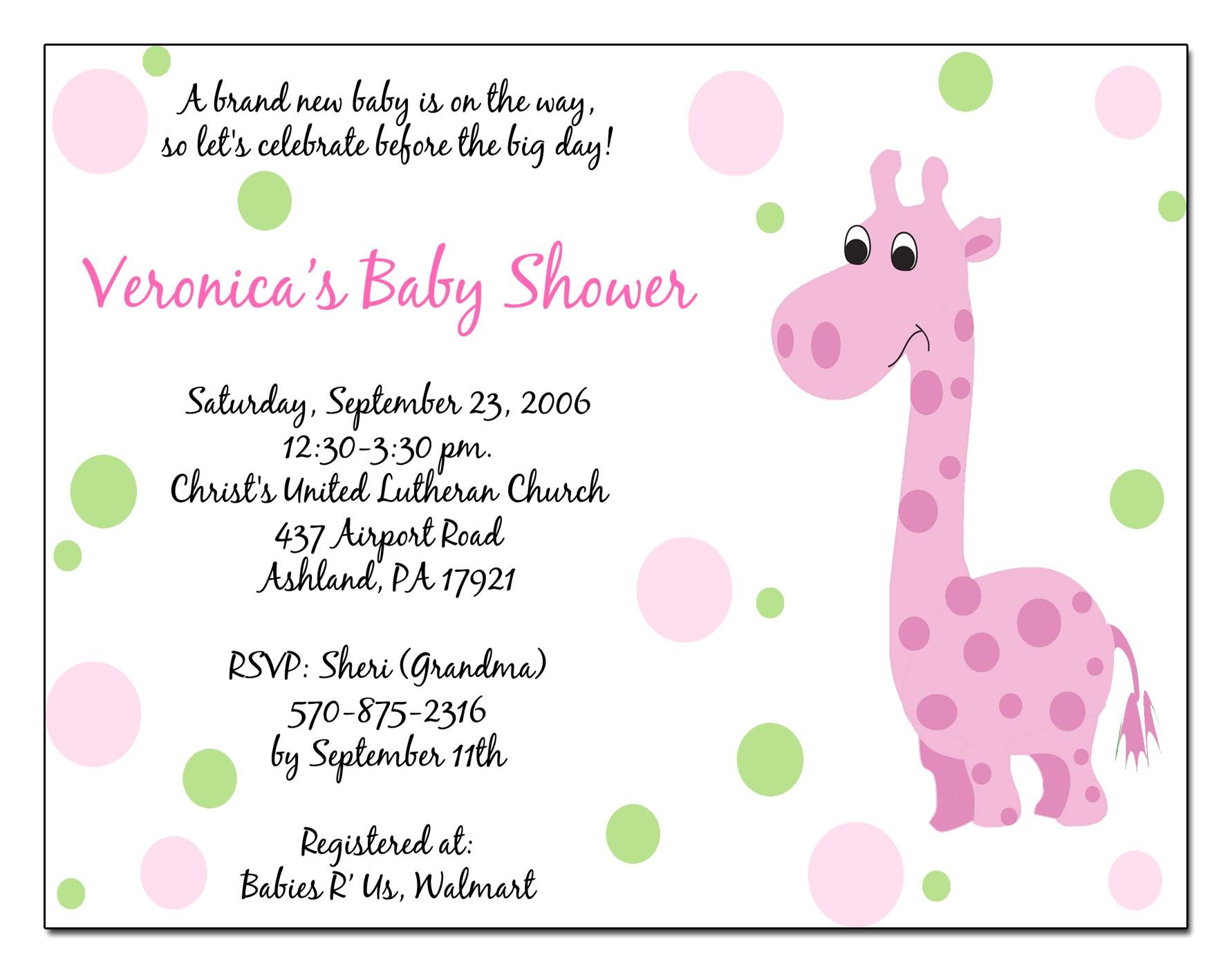 baby shower e invitations templates