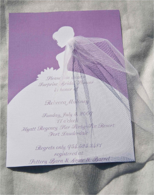 bridal shower invitations bride