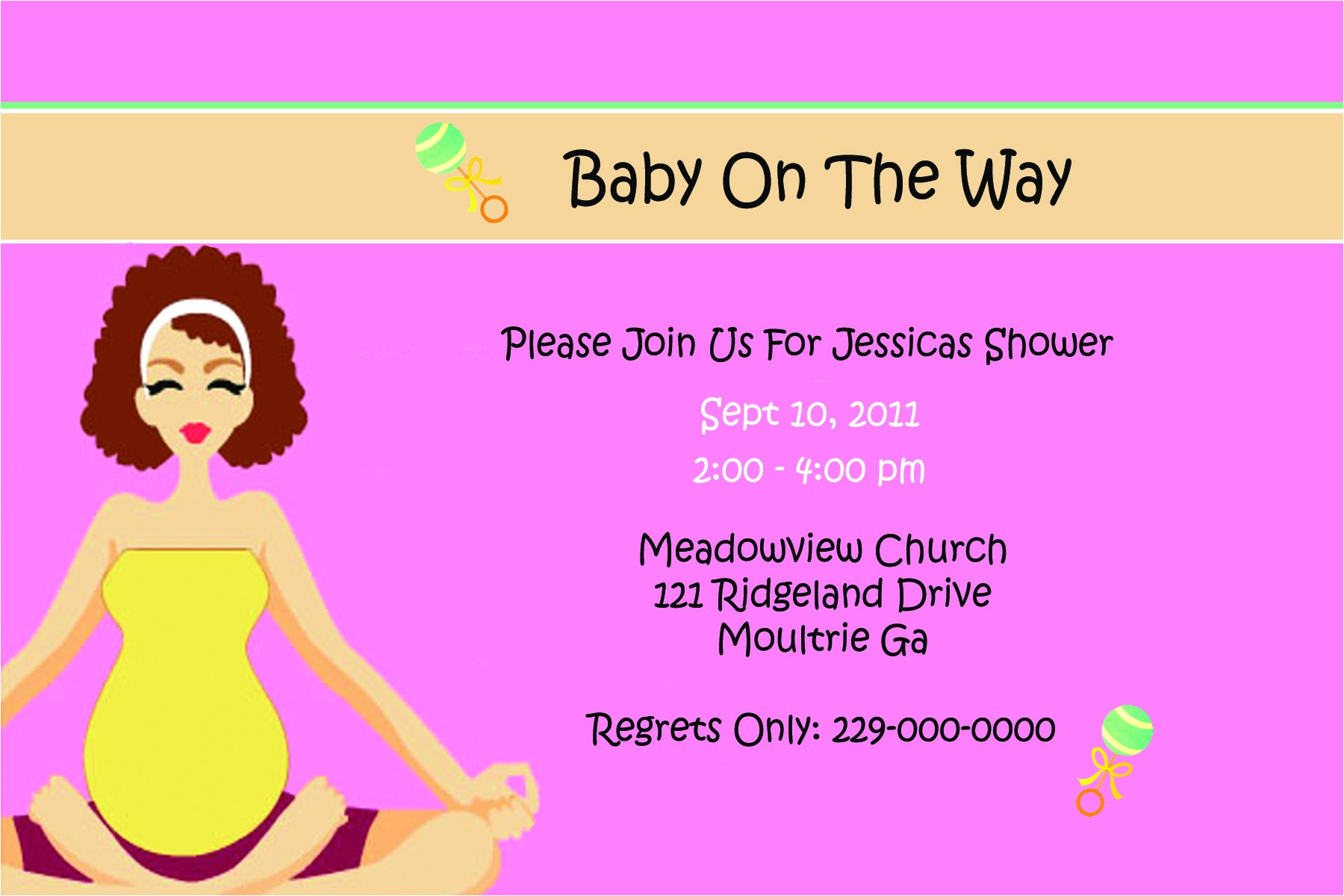 baby shower e invites